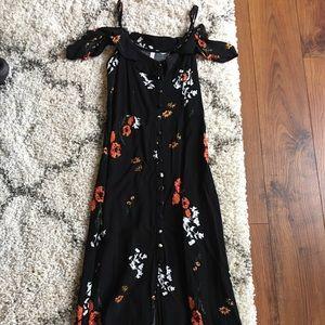 Xhilaration floral maxi dress